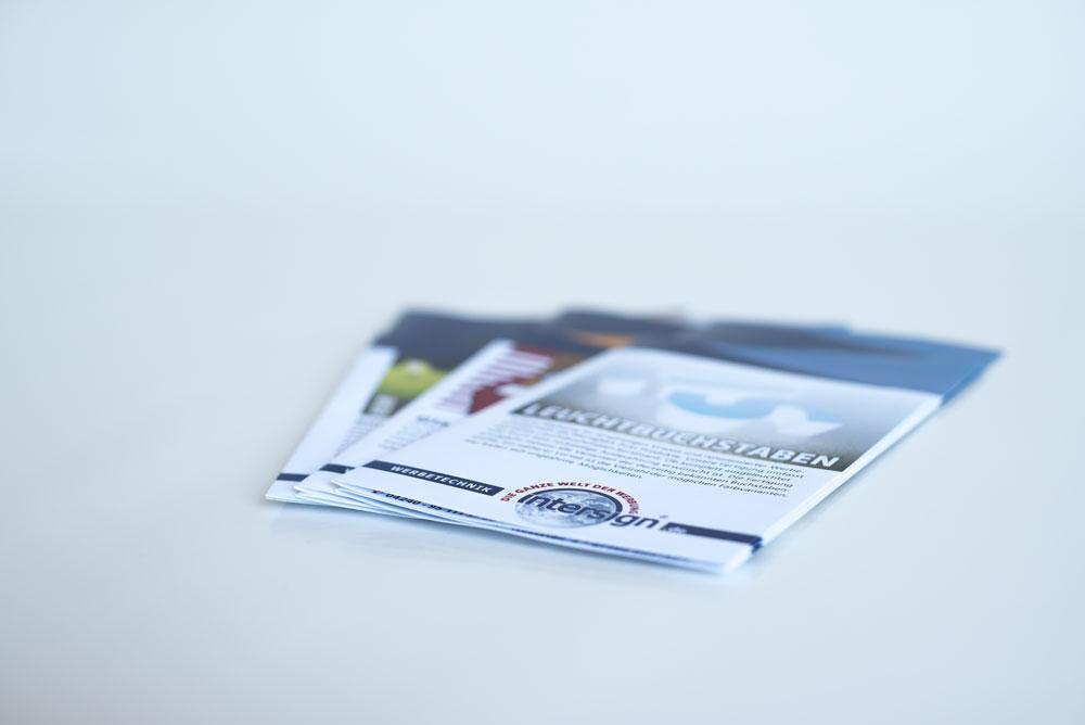 Handzettel & Flyer 1
