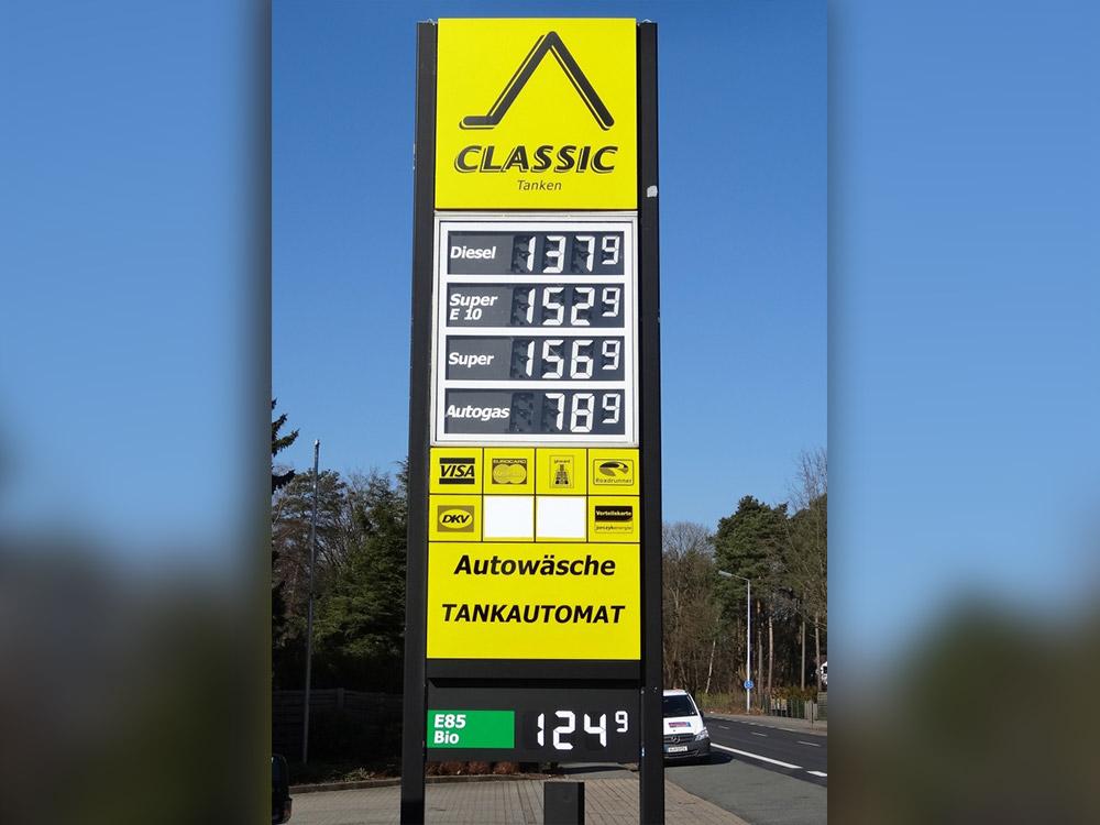 Preisanzeigen Manuell 2  Manual price displays PreisanzeigenM2
