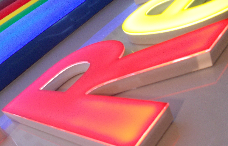 Leuchtbuchstaben 5