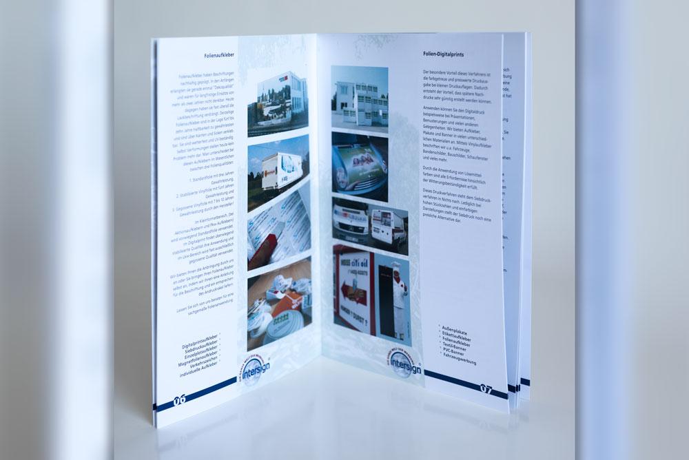 Layout & Gestaltung 4 prospekte Prospekte Prospekt3
