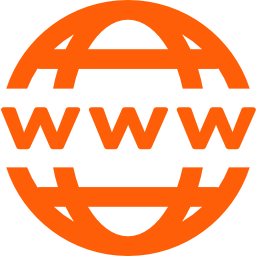 Online presence domain icon