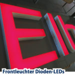 Leuchtbuchstaben LED kalkulieren Preis 95