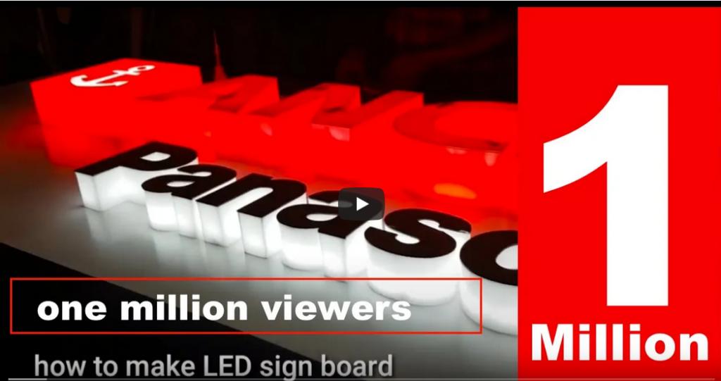 Leuchtbuchstaben LED kalkulieren Preis