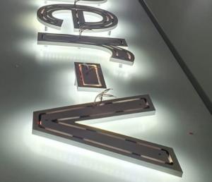 Typen von LED-Leuchtbuchstaben