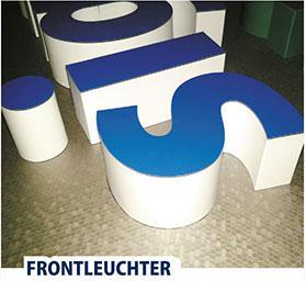 Baugenehmigung für LED-Leuchtbuchstaben mit Logo